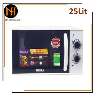 Lò vi sóng 25L Matika MTK-9225 có 3 chức năng Nướng, hâm nóng, rã đông thức ăn tự cài đặt theo trọng lượng thumbnail