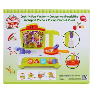 Bộ đồ chơi nấu ăn có nhạc Winfun