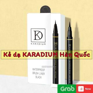 Bút kẻ mắt dạ Karadium Waterproof Brush Liner Black Hàn Quốc thumbnail