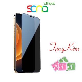 kính cường lực iphone, miếng dán màn hình chống bám vân tay và chống nhìn trộm - SONA offical thumbnail
