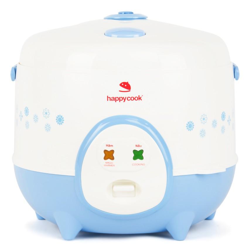 Nồi cơm điện Happycook 1.8 lít HC-180A Xanh