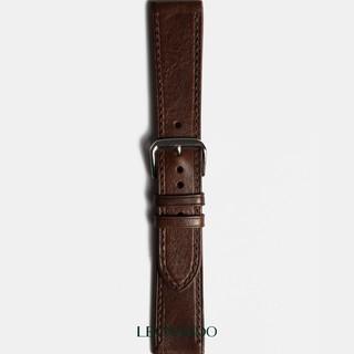 Dây da đồng hồ Hustle, da bò nhập khẩu, thay dây Apple Watch thương hiệu Leonardo