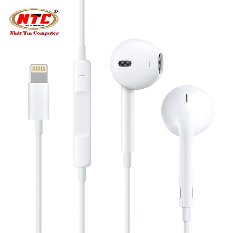 Tai nghe cổng Lightning cho IPhone 7 trở lên - cam kết Zin theo máy (Trắng)