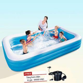 Bể Bơi Gia Đình Loại Dày 275cm×179cm×65cm