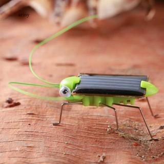 ♞Creative Fun Solar Power Robot Insect Locust Grasshopper Kids Educational Toy