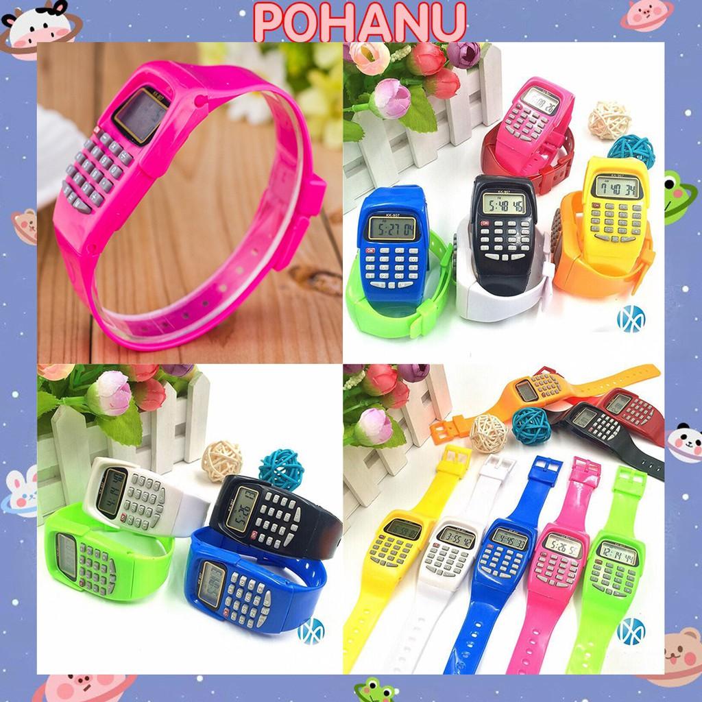 Đồng hồ Pohanu nữ Sports KK - 907 có chức năng xem giờ và máy tính DH76