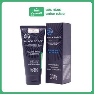 Sữa Rửa Mặt Sạch Sâu Ngừa Mụn Dành Cho Nam Dabo Homme Black Force Foam Cleanser 120ml – Hàn Quốc Chính Hãng