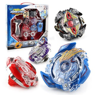 Burst Beyblade Starter Grip Launcher Rapidity Kids Toys Set