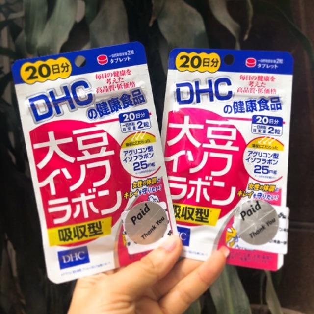 Viên uống mầm đậu nành DHC - 2405739 , 138873477 , 322_138873477 , 240000 , Vien-uong-mam-dau-nanh-DHC-322_138873477 , shopee.vn , Viên uống mầm đậu nành DHC