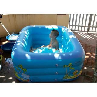 Bể Bơi Phao 1m5 2 tầng, 3 tầng hàng Cao cấp (Tặng kèm bộ miếng vá + hướng dẫn sd)
