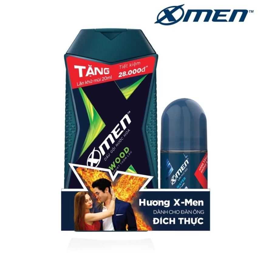 Dầu Gội Nước hoa X-Men Wood 180G TẶNG Lăn khử mùi Xmen 20ml - 3338714 , 507708431 , 322_507708431 , 54000 , Dau-Goi-Nuoc-hoa-X-Men-Wood-180G-TANG-Lan-khu-mui-Xmen-20ml-322_507708431 , shopee.vn , Dầu Gội Nước hoa X-Men Wood 180G TẶNG Lăn khử mùi Xmen 20ml