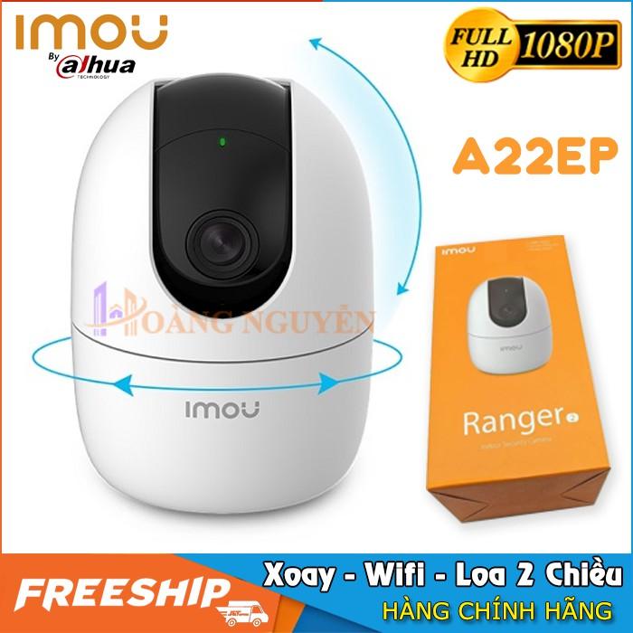 Camera Wifi IMOU A22EP 1080P - Imou Ranger 2 A22EP và Imou C22EP - Cảnh Báo Âm Thanh, Đàm Thoại 2 Chiều