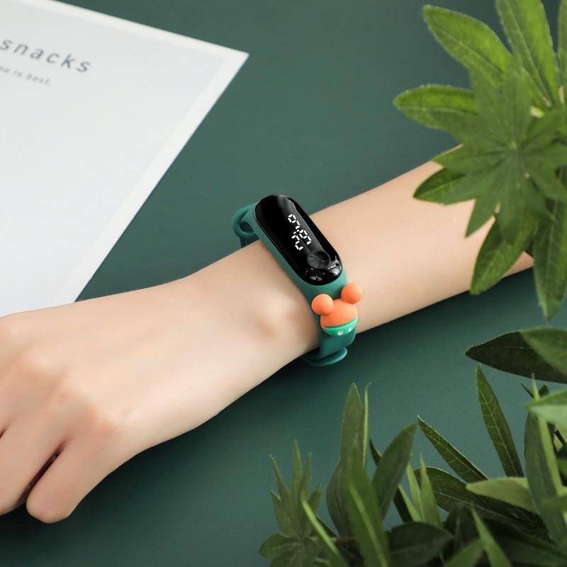 [RẺ VÔ ĐỊCH] Đồng hồ Disney Mickey Zgo silicon ĐỦ MẪU nam nữ unisex trẻ em thể thao chống nướcđèn led mẫu mới hot hit