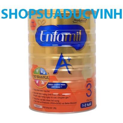 Sữa bột Enfa Enfagrow A+ 3 360 BrainPlus PDXGOS 1800g (1-3tuổi) - 2495081 , 38385288 , 322_38385288 , 865000 , Sua-bot-Enfa-Enfagrow-A-3-360-BrainPlus-PDXGOS-1800g-1-3tuoi-322_38385288 , shopee.vn , Sữa bột Enfa Enfagrow A+ 3 360 BrainPlus PDXGOS 1800g (1-3tuổi)