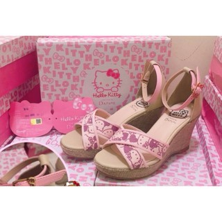 Giày đế xuồng Hello Kitty Wedges (Hàng hiệu săn sale) thumbnail