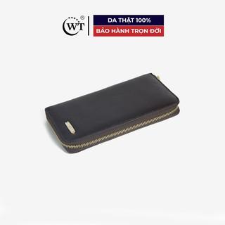 Ví Nữ Da Bò Cao Cấp Màu Nâu, Màu Đen WT Leather 0625.1, 0625.2 thumbnail
