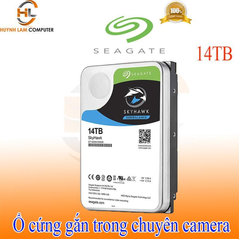 Ổ cứng gắn trong HDD 14TB Seagate Skyhawk chuyên camera – Viễn Sơn phân phối Giá chỉ 13.543.600₫