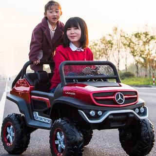 Ô tô xe điện siêu bán tải MERCEDES YT-1688 đồ chơi vận động cho bé 2 chỗ 12V7AH