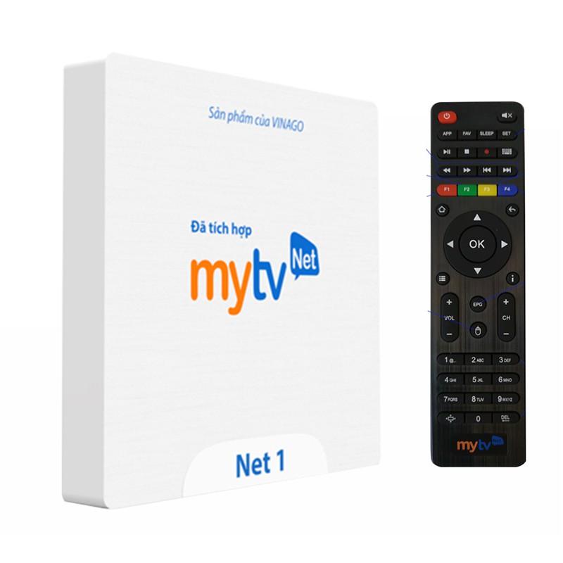Đầu MYTV NET 1 RAM 1GB - Xem Truyền Hình Bản Quyền Miễn Phí 100 Kênh Trọn Đời