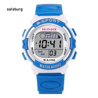 Đồng hồ điện tử hiển thị ngày cho bé trai và bé gái