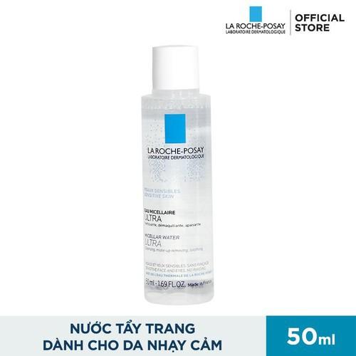Nước Tẩy Trang Cho Da Nhạy Cảm và Da Dầu Mụn La Roche-Posay Micellar Water  Ultra Sensitive Skin 50ml | Shopee Việt Nam