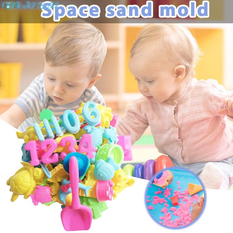 Sand Molding Tools Play Sand Kit for Kids Sand Play Set for Children Boys Girls
