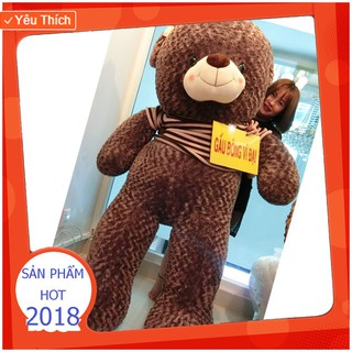 (100% Bông Gòn) Gấu Bông Teddy 2m HÀNG CHUẨN LOẠI 1