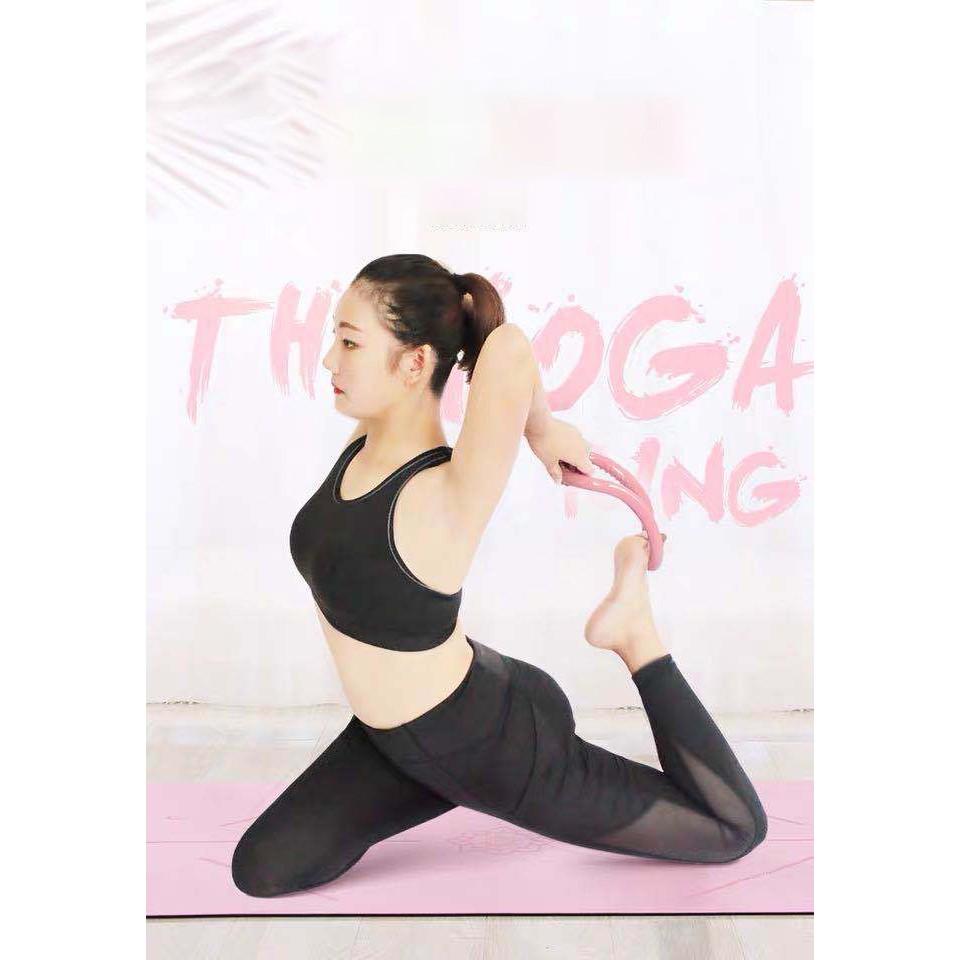 (CHỌN MÀU) Vòng Hỗ Trợ Tập Yoga Đa Chức Năng Cao Cấp G2