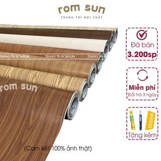 Giấy dán tường giả vân gỗ dán 3D khổ 60cm ,1,2m chống thấm nước,decal giả gỗ dán tường phòng ngủ,bàn,tủ,kệ,cửa SPCL-GG thumbnail