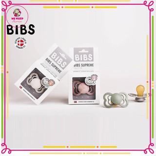 [Mẫu mới] Ti giả BIBS Supreme có núm ti dẹt nhập khẩu Đan Mạch (tặng kèm hộp nhựa đựng ti) thumbnail
