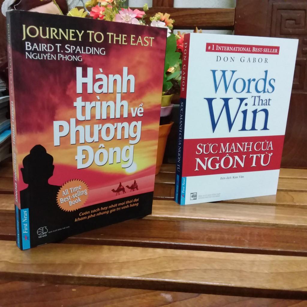 ( Sách Thật ) Combo 2 cuốn sách - Sức mạnh của ngôn từ - Hành trình về phương đông - 3461399 , 1141938208 , 322_1141938208 , 162000 , -Sach-That-Combo-2-cuon-sach-Suc-manh-cua-ngon-tu-Hanh-trinh-ve-phuong-dong-322_1141938208 , shopee.vn , ( Sách Thật ) Combo 2 cuốn sách - Sức mạnh của ngôn từ - Hành trình về phương đông