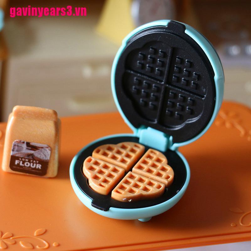 Lò nướng điện mini để trang trí nhà búp bê