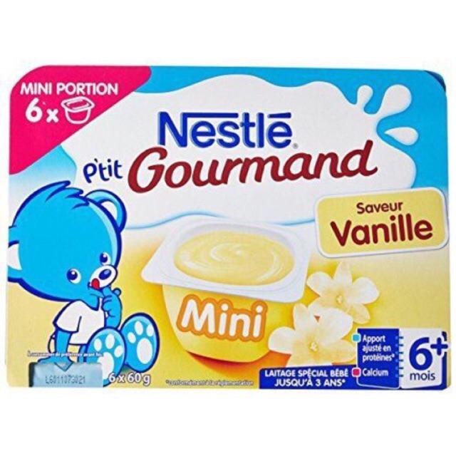 Váng sữa Nestle Pháp vị vani (6x60g)