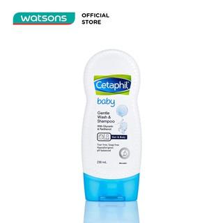 Sữa Tắm Gội Trẻ Em Cetaphil Baby Gentle Wash & Shampoo 230ml thumbnail