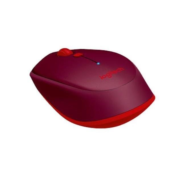 (BH12T - Hãng phân phối) Chuột không dây Logitech M337 Đỏ .