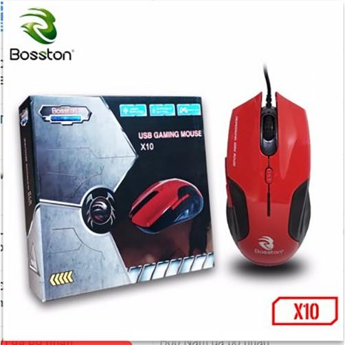 Chuột game có dây Bosston X10 - 2473877 , 1089549067 , 322_1089549067 , 110000 , Chuot-game-co-day-Bosston-X10-322_1089549067 , shopee.vn , Chuột game có dây Bosston X10