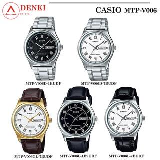 Đồng hồ Nam Casio MTP-V006 chính hãng Anh Khuê - Bảo hành 1 năm - Series MTP-V006D MTP-V006GL MTP-V006L thumbnail