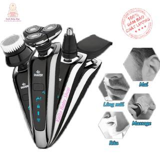 Máy cạo râu đa năng thế hệ mới tự động mài lưỡi RAYCO , chống nước tuyệt đối, Bảo Hành 3 tháng Kaito Baby Shop – RQ1250