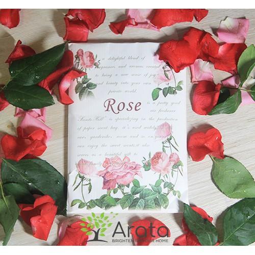 Túi thơm Scented Sachet_Rose scent