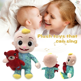 [FCD] Musical Bedtime JJ Doll with a Soft Plush Tummy Super Cute Bedtime Toys for Babies Kids Boys Girls