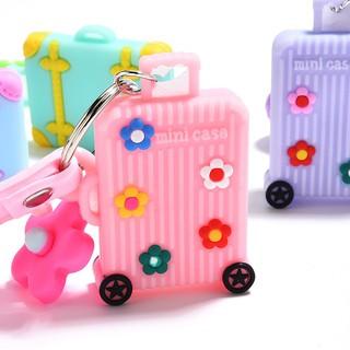 Vali mini gắn chìa khóa màu kẹo ngọt đáng yêu thumbnail