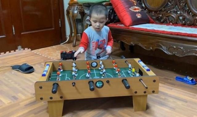 (Ảnh thật 100%) Bàn bóng đá/ bi lắc gỗ cho bé