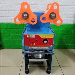 Máy dập nắp cốc bán tự động Eton A9 – Máy dán miệng ly Eton A9 ( Thanh Lý ) Tặng Màng dập