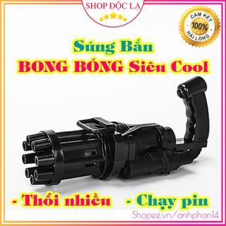 Súng Bắn Bong Bóng 8 Nòng Siêu Mạnh- Sản phẩm mùa hè cho bé- thích hợp với mọi lứa tuổi-phân phối độc quyền tại Việt Nam thumbnail