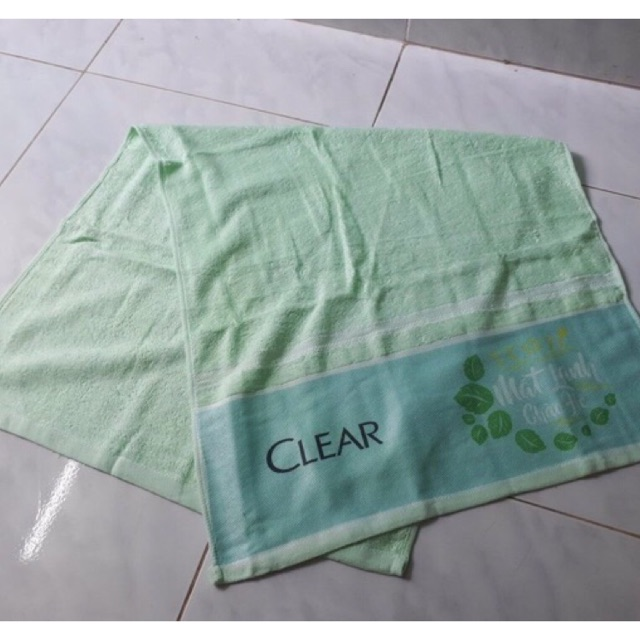 Khăn clear 50cmx120cm, 100% cotton