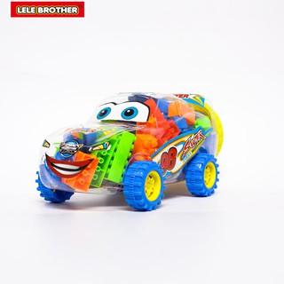 Hình ảnh Đồ chơi Lắp Ráp Xe Đua Siêu Tốc Độ Super Power Racing Car Lele Brother (8139-3)-0