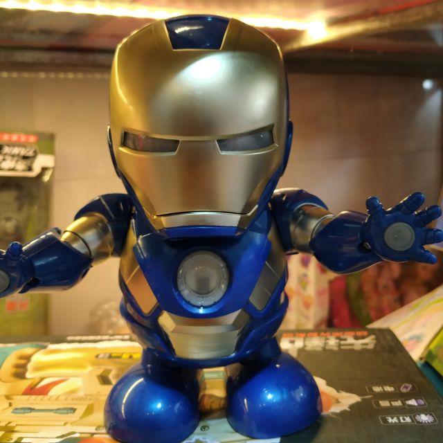 Iron Man nhảy múa, đồ chơi siêu nhân người sắt nhảy múa.