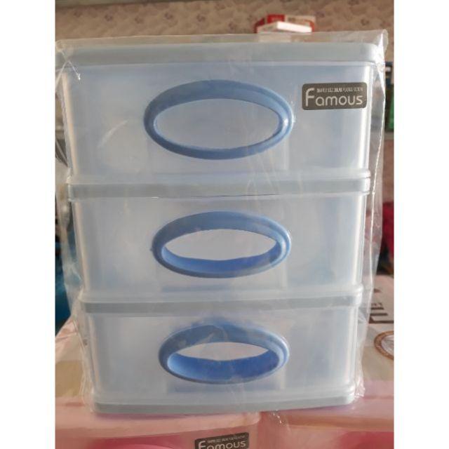 Tủ nhựa mini 3 tầng - 3109839 , 1247537181 , 322_1247537181 , 68000 , Tu-nhua-mini-3-tang-322_1247537181 , shopee.vn , Tủ nhựa mini 3 tầng