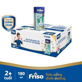 Thùng 48 hộp Sữa uống dinh dưỡng Friso Gold (180ml/hộp)