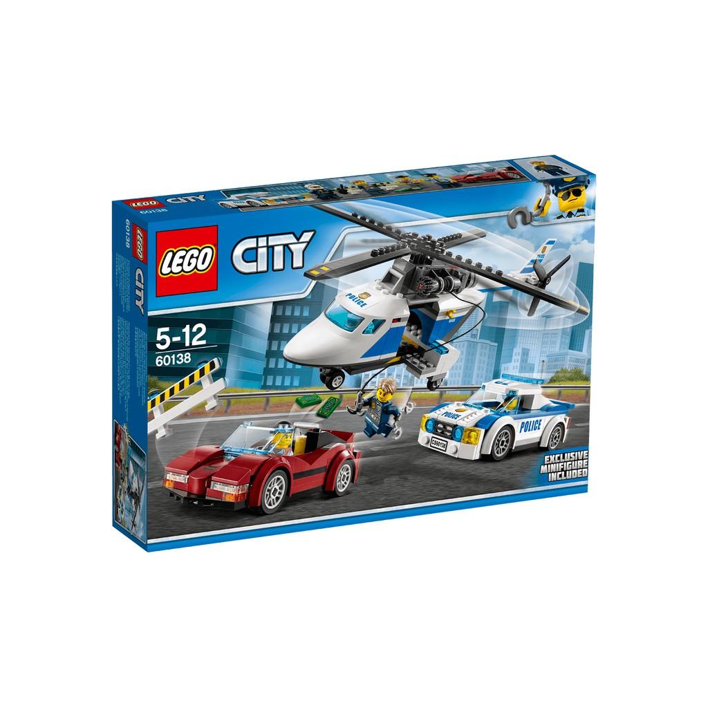 Lego City - Cảnh Sát Và Cuộc Truy Đuổi Trên Không - 60138